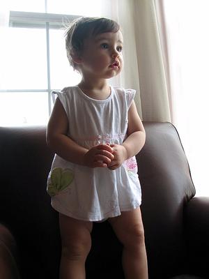 13 months - she climbs3